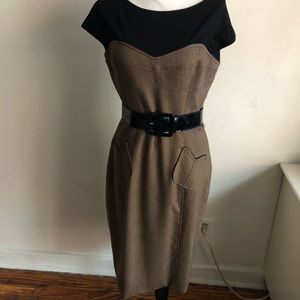 Dresses & Skirts - Brown and black dress